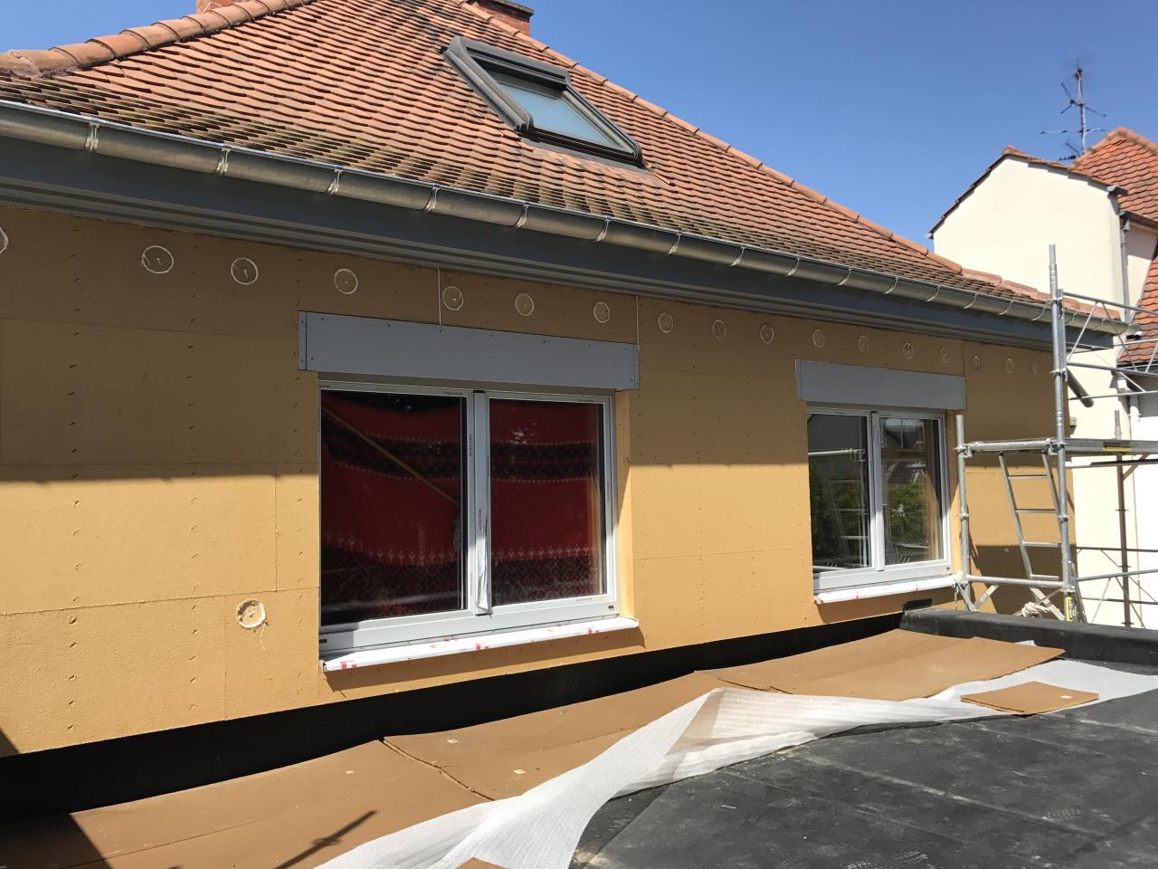 Fenêtre de toit Roto 114 x 140cm en place - Strasbourg Neudorf