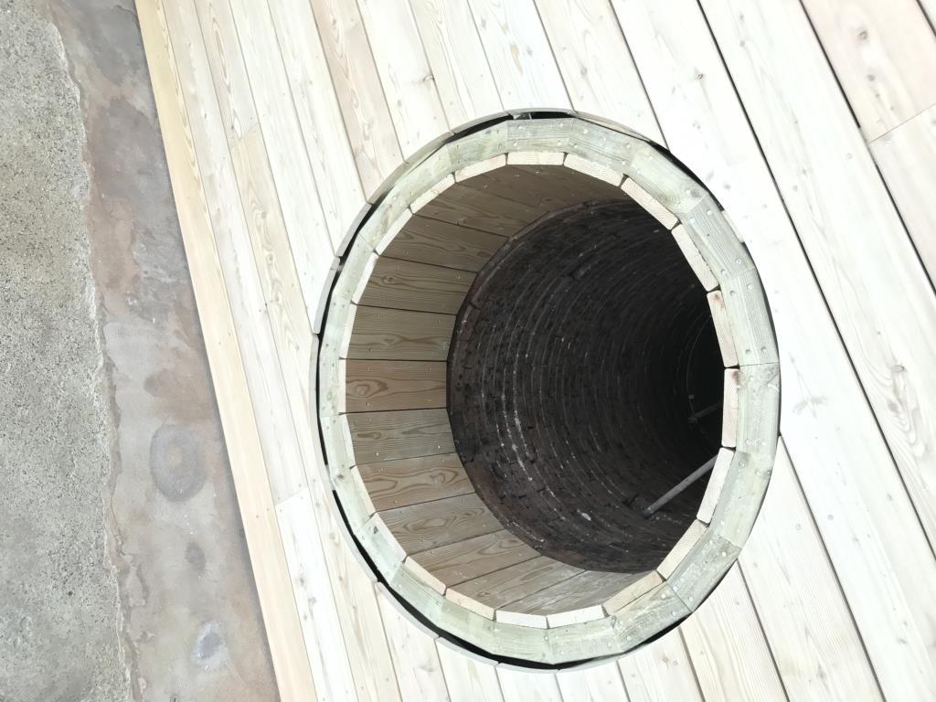 Structure en lamellé-collé Mélèze de la terrasse bois