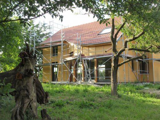 Projet h2 – Maison bois presque passive – Gambsheim
