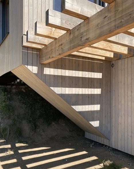 Projet bar6 – Bardage bois – Mélèze raboté – Finition vieux bois – Lac de Gérardmer