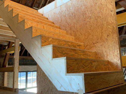 Projet e1 – Escalier à habiller – Gertwiller